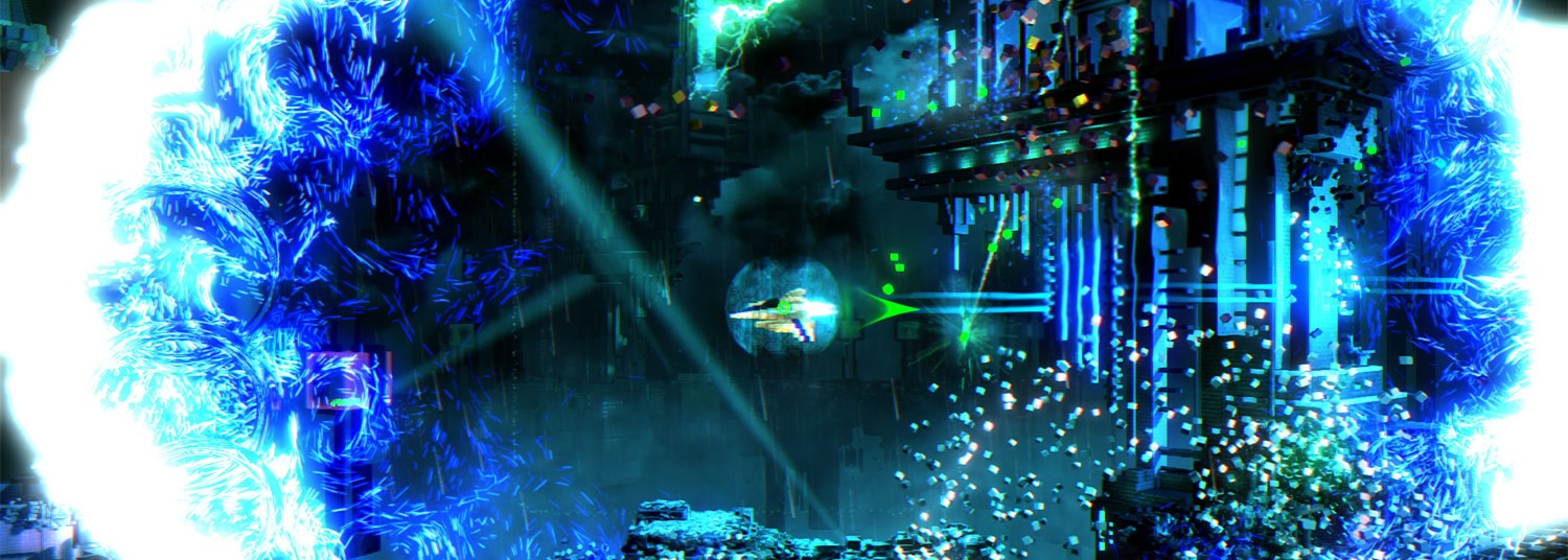 Resogun-DLC in Arbeit!