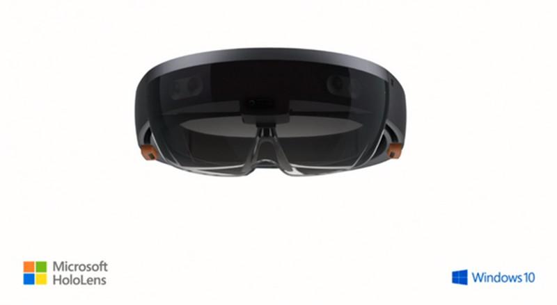 Datenbrille von Microsoft namens HoloLens: Die Zukunft ist hier