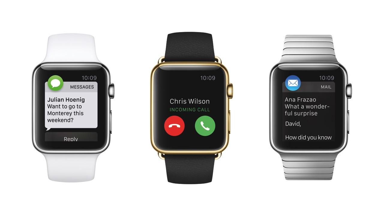 Apple Watch drei Möglichkeiten zur Benutzung Watchfaces