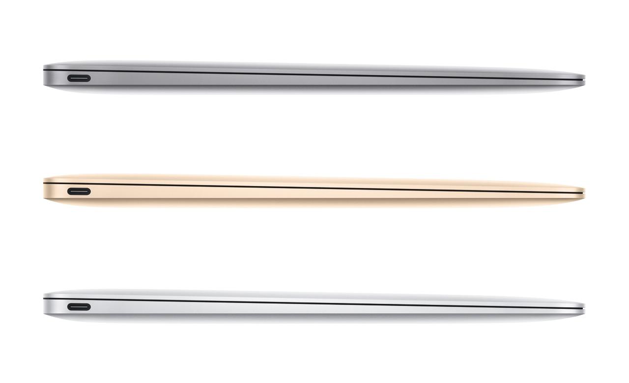 MacBook Retina Display Spacegrau Gold Silber
