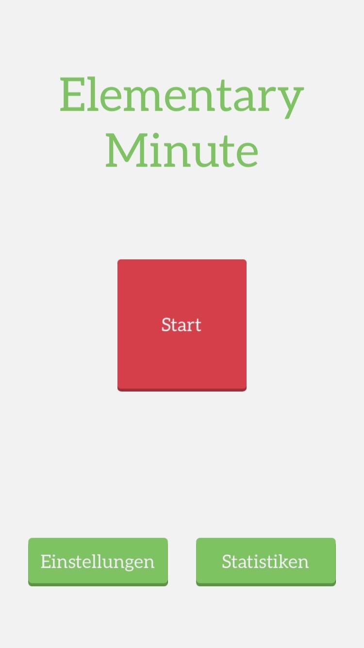 elementary minute ios game spiel austria klemens strasser