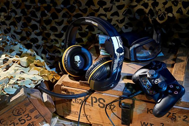 Das <em>Thrustmaster Y-350P Ghost Recon Wildlands</em> Gaming-Headset im Test