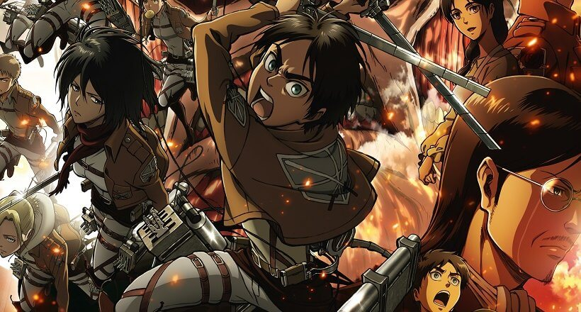 Attack on Titan Season 1-2 Recap
