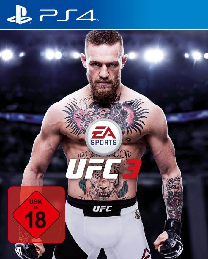 EA Sports UFC 3 Cover Star Connor McGregor