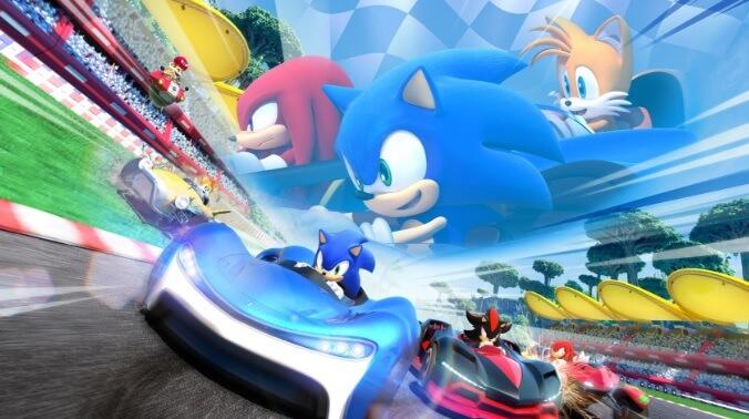 E3 2018 Team Sonic Racing
