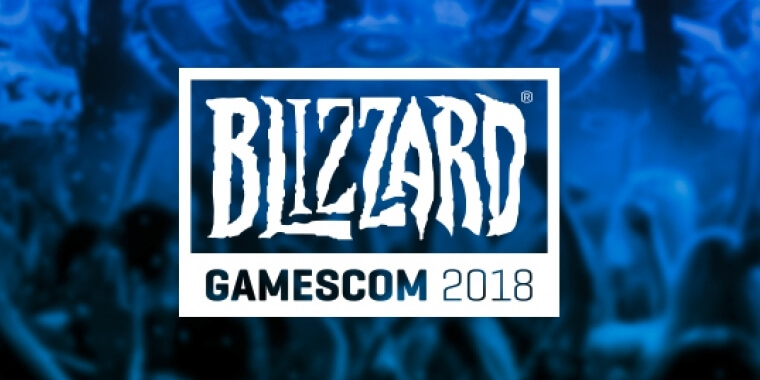 gamescom 2018 Blizzard