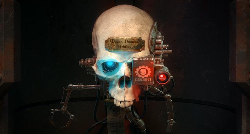 Warhammer 40.000 Mechanicus Gameplay gamescom 2018