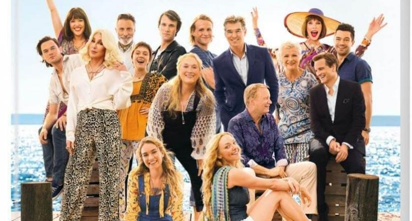 Mamma Mia! Here We Go Again DVD Blu-ray