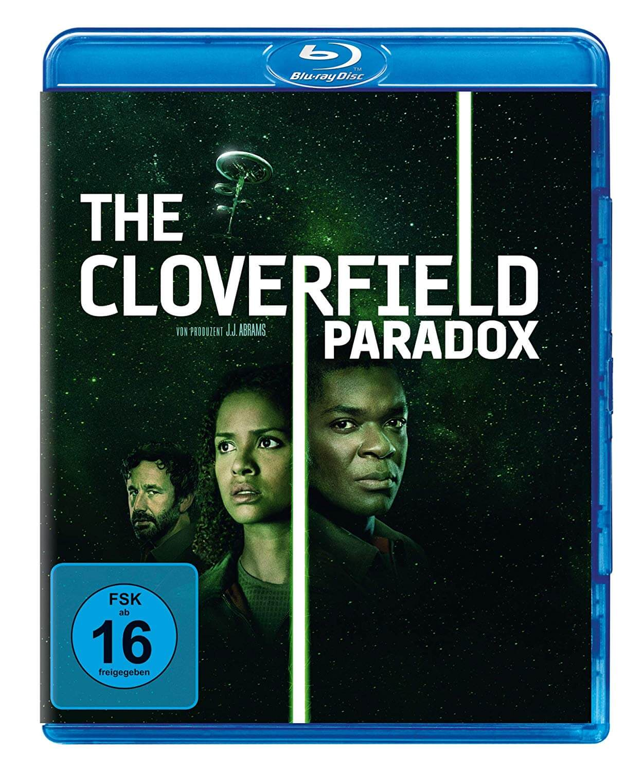 Cloverfield Paradox Blu-ray DVD Start