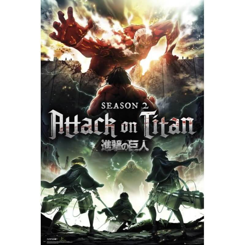 Attack on Titan Staffel 2 DVD-/Blu-ray Start deutsch