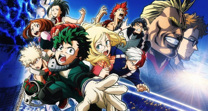 My Hero Academia Two Heroes Kino Movie