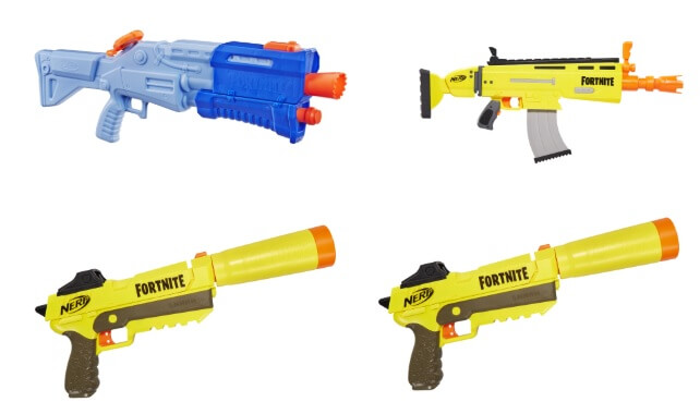 Nerf Fortnite Super Soaker Line-up