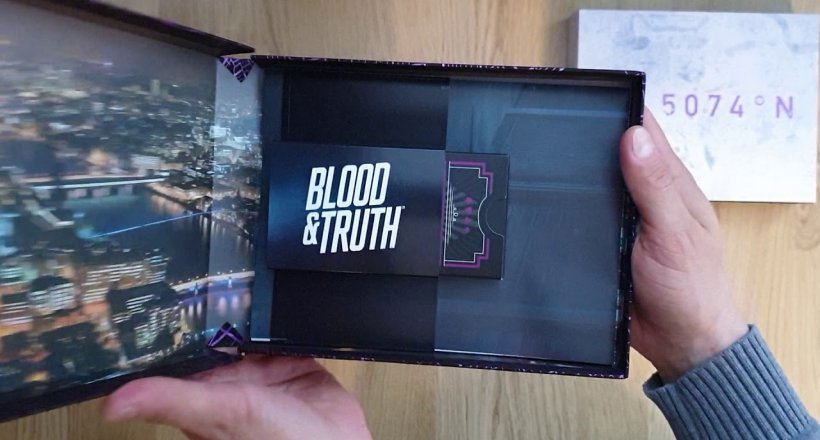 Blood & Truth Presskit Unboxing Video