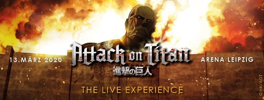 Attack on Titan The Live Experience Leipzig 2020