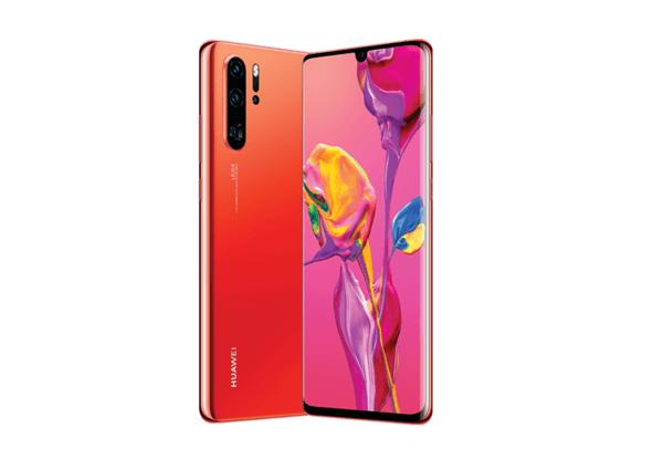 Huawei P30 Amber Sunrise