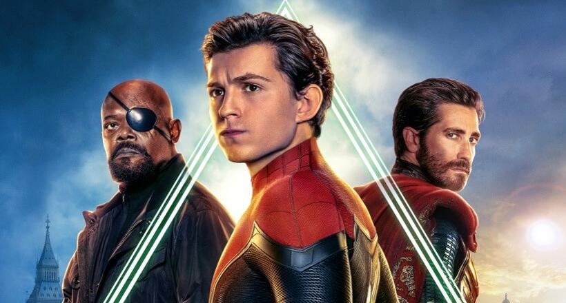 Spider-Man Far From Home Blu-rays Gewinnspiel Verlosung