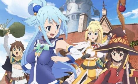 Konosuba Release Deutschland Anime Animoon Publishing