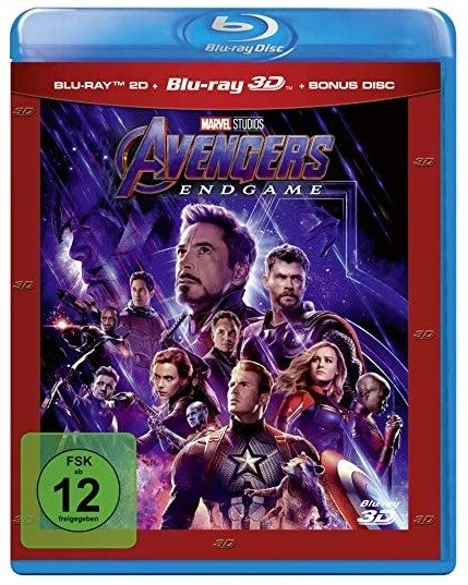 Avengers: Endgame Review 3D-Blu-ray