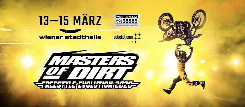 Masters of Dirt Total Freestyle Evolution Tour 2020 Wien