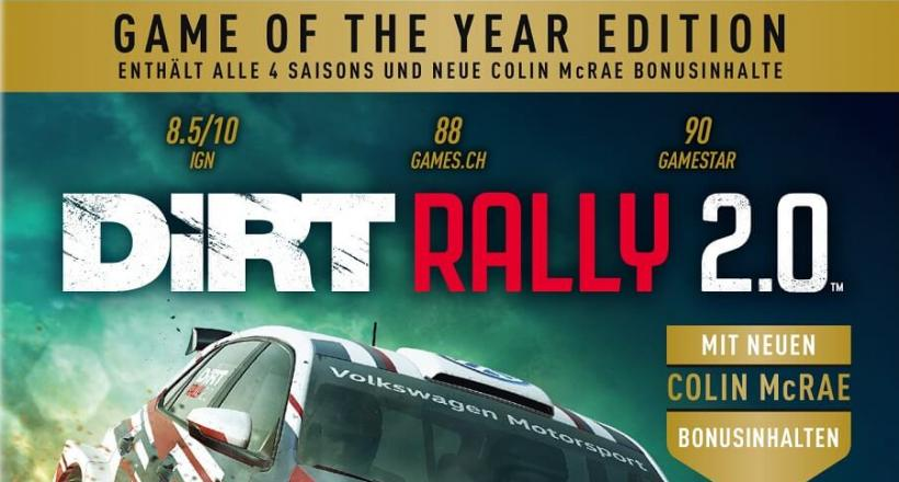 DiRT Rally 2.0 Game of the Year-Edition
