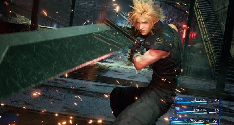 Final Fantasy 7 Remake Intergrade PS5