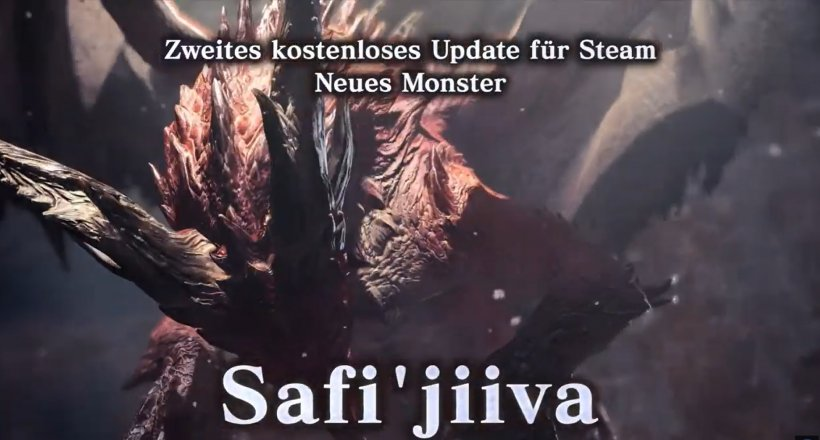Monster Hunter World Iceborne Safi'jiiva-Belagerung