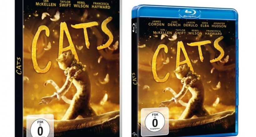 Cats DVD Blu-ray