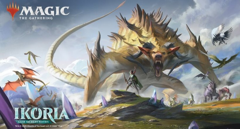 Magic: The Gathering Godzilla-Debüt in Ikoria: Reich der Behemoths