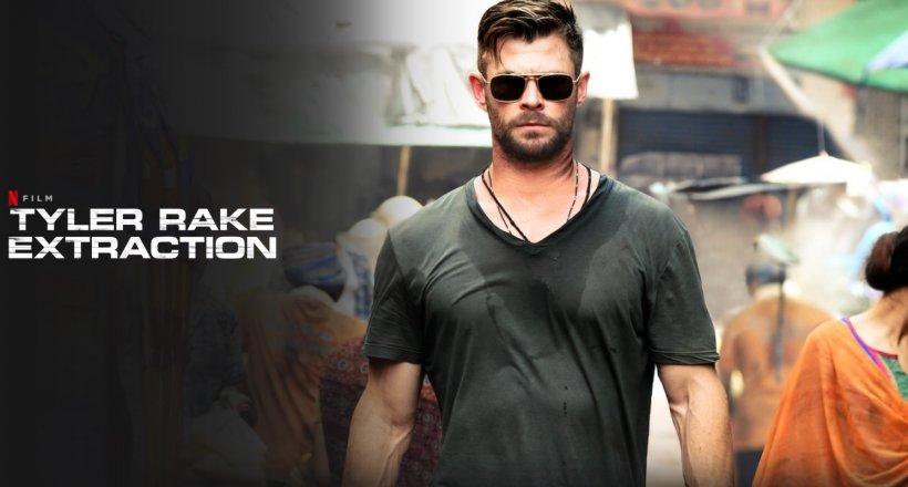 Tyler Rake Extraction Netflix