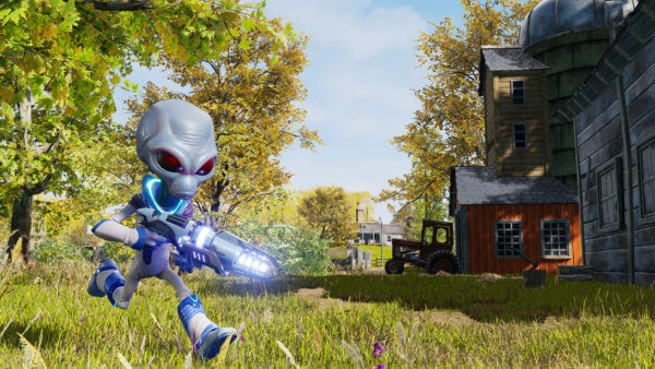 Interaktiver Destroy all Humans Trailer