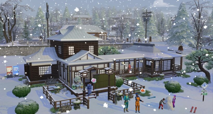 Die Sims 4 Ab ins Schneeparadies