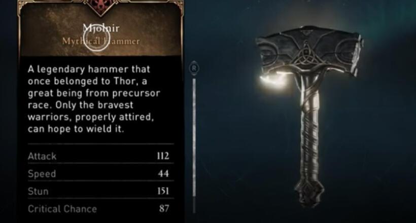 Assassin's Creed Valhalla Mjolnir Guide