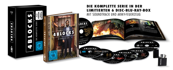 4 Blocks - Die komplette Serie Extras