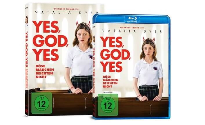 Yes, God, Yes DVD Blu-ray