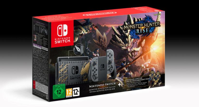 Monster Hunter Rise Switch Bundle