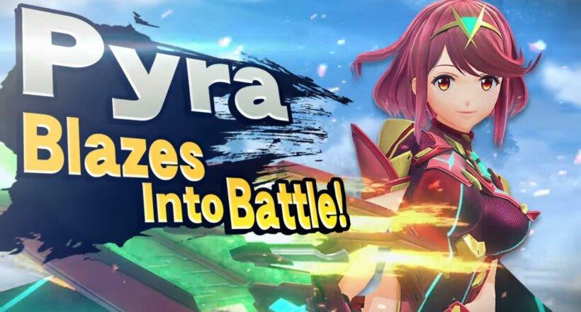 Super Smash Bros. Ultimate Pyra