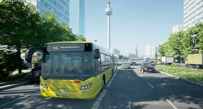 The Bus Simulator Early Access