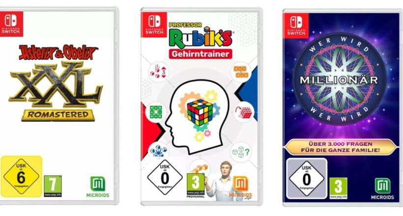 Gewinnspiel Microids