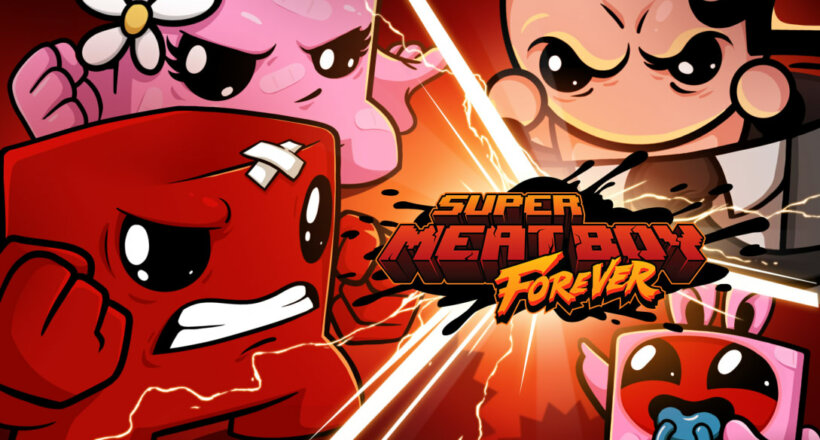 Super Meat Boy Forever PS4