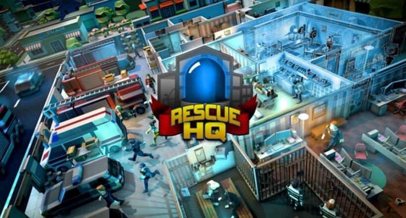 Rescue HQ The Tycoon Konsolen